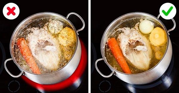 Bí quyết nấu nước hầm xương không vẩn đục