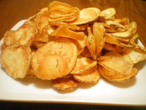Cách làm bim bim khoai tây tại nhà giòn tan
