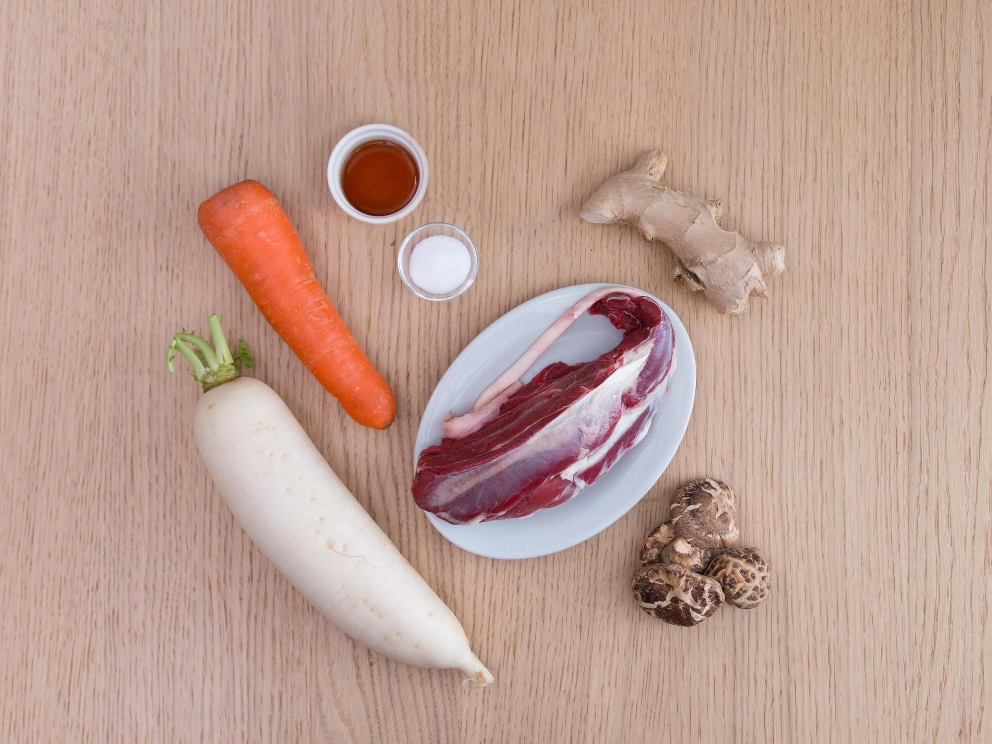 Nhân ngày mát trời hãy làm món bò hầm rau củ thơm ngon nóng hổi