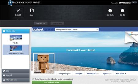 Cách làm avatar liền ảnh bìa trên facebook đơn giản mà đẹp