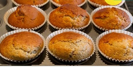 3 Cách làm bánh Muffin chuối ngon ngây ngất