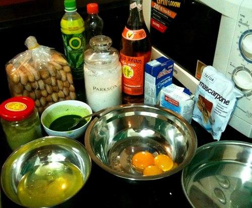 Cách làm bánh tiramisu vị trà xanh ngon tuyệt