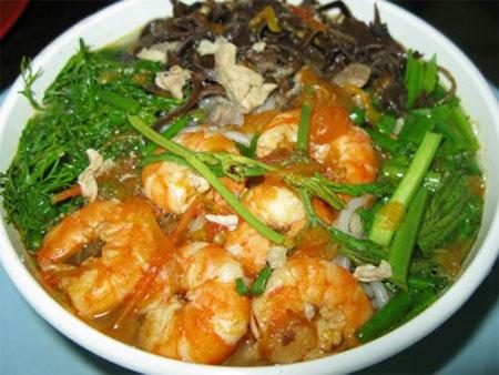 Cách làm bún tôm Quảng Ninh chuẩn vị Uông Bí