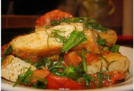 Cách làm chả cá sốt cà chua đậm đà đưa cơm