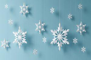 Cách làm hoa tuyết đơn giản bằng giấy để trang trí ngôi nhà