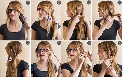 Cách làm tóc dễ thương đi học vô cùng đơn giản
