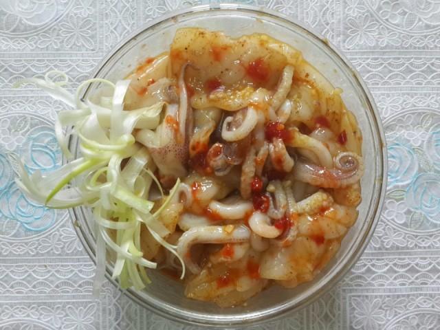 Cách làm món mực xào cà ri nhanh gọn đủ chất cho bữa tối