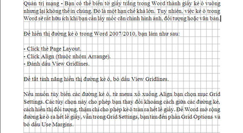 Cách tạo ô vuông trong Word 2003 word 2007 và 2010 chính xác đơn giản