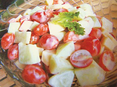 Cách làm salad trái cây sữa chua ngon miệng, giảm cân