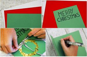 Cách làm thiệp giáng sinh handmade 2014 ý nghĩa tặng người thân yêu