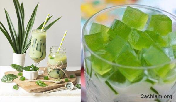 Cách làm trà sữa thái lan thạch lá nếp đơn giản ngay tại nhà