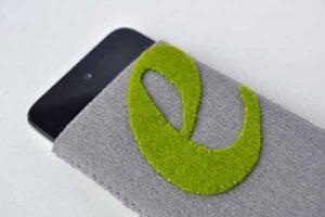 Cách làm túi đựng điện thoại bằng vải nỉ dễ dàng