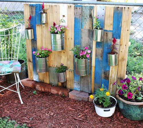 Cách làm vườn hoa nhỏ xinh xắn, sáng tạo