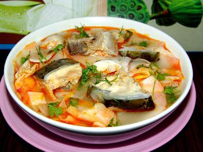 Cách nấu canh cá với măng hương vị cực hấp dẫn
