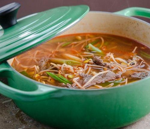 Cách nấu canh giá đỗ Hàn Quốc đơn giản hương vị tuyệt ngon