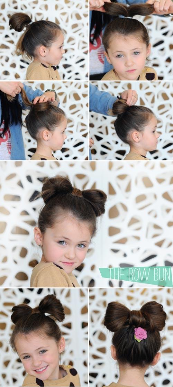 Cách làm các kiểu tóc cho bé gái cực xinh yêu