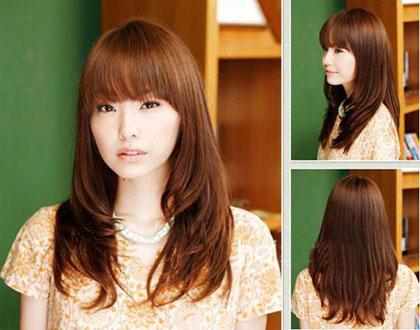 Cách tạo kiểu tóc cho khuôn mặt dài trở nên cân đối