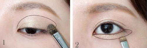 Cách trang điểm mắt dịu dàng cuốn hút người đối diện