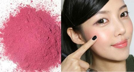 Cách làm phấn má hồng từ thiên nhiên siêu dễ lại an toàn cho da