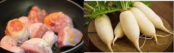 Cách làm món thịt gà kho củ cải ngon cơm mùa Đông