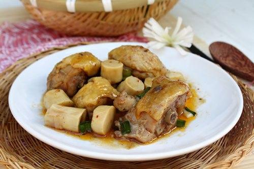 2 Cách làm món thịt gà kho măng tuyệt ngon ăn với cơm